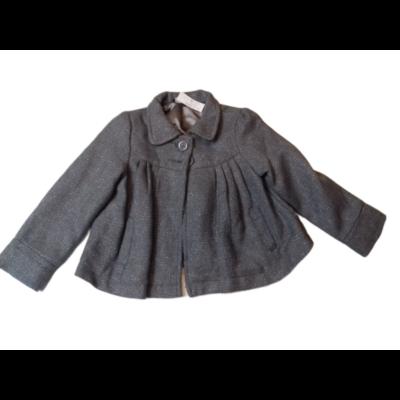 98-104-es szürke-ezüst szövet átmeneti kabát - George