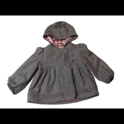 92-98-as szürke szövet átmeneti kabát kislánynak - Jasper Conran
