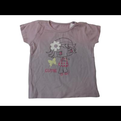 80-as lila kislányos póló