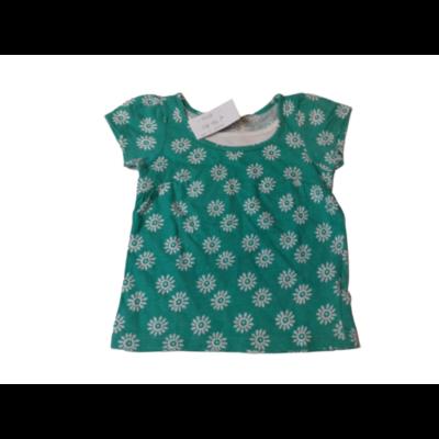 74-80-as zöld virágos póló - Cherokee