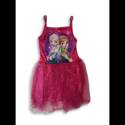 104-es pink tüllös ruha, jelmeznek is jó - Frozen, Jégvarázs - ÚJ