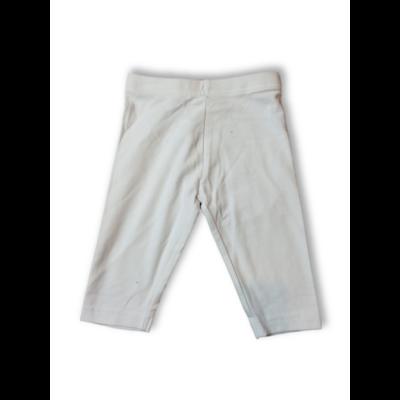 116-os fehér térdig érő leggings - Primark - ÚJ