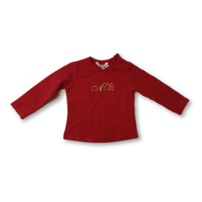 86-os piros pamutfelső lánynak - Mayoral