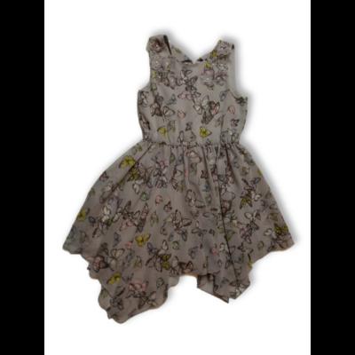 158-as szürke lepkés alkalmi ruha - I Love Girlswear