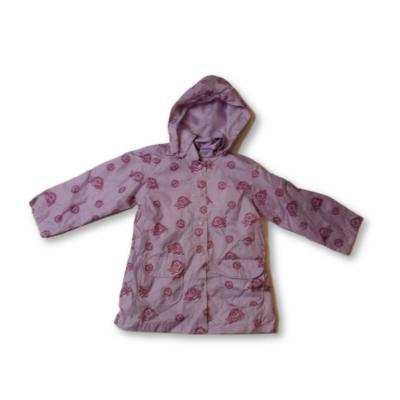 110-es lilla rózsás széldzseki, átmeneti kabát - Mothercare