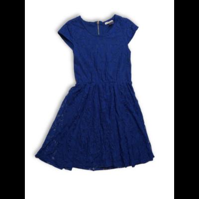 158-164-es kék csipkés alkalmi ruha - Marks & Spencer