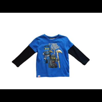 92-es kék-fekete pamutfelső - Lego Ninjago - ÚJ