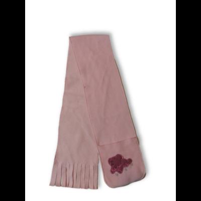 115 cm hosszú rózsaszín elefánts polár sál