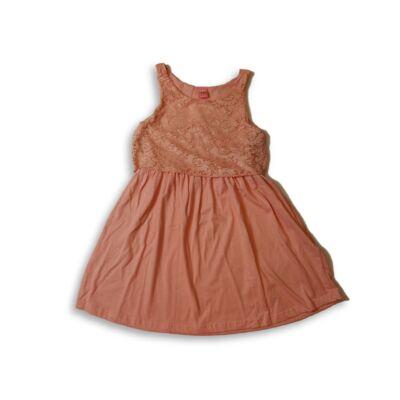 146-152-es rózsaszín csipkés alkalmi ruha - Y.F.K - ÚJ