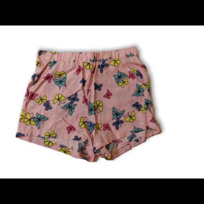 122-es rózsaszín lepkés short - Kiki & Koko - ÚJ