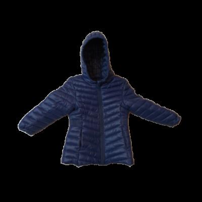 92-es kék steppelt lány átmeneti kabát - Reserved