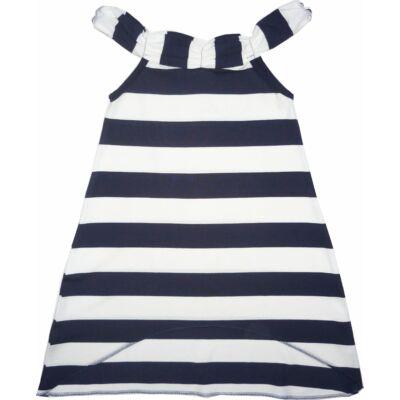 134-es kék-fehér csíkos ruha - ÚJ