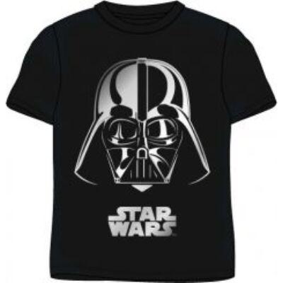 128-as fekete póló ezüst mintával - Darth Vader - Star Wars - ÚJ