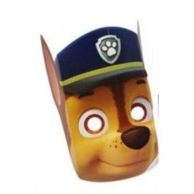 Chase papír álarc - Paw Patrol - Mancs Őrjárat - ÚJ