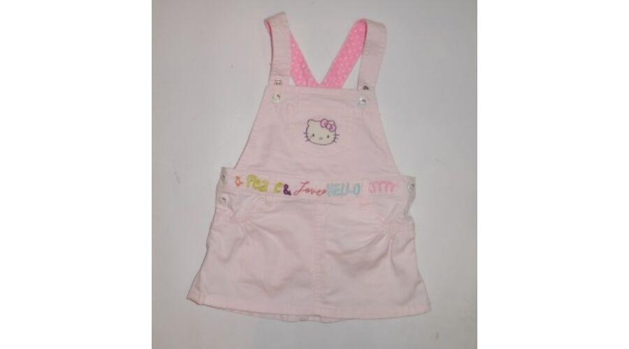 80-as rózsaszín kantáros nyári ruha - H M Hello Kitty Katt rá a  felnagyításhoz 689532eae5