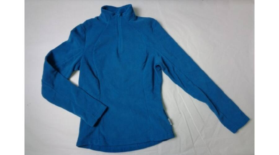 164-es türkiz polár lány pulóver - Quechua 4134390831