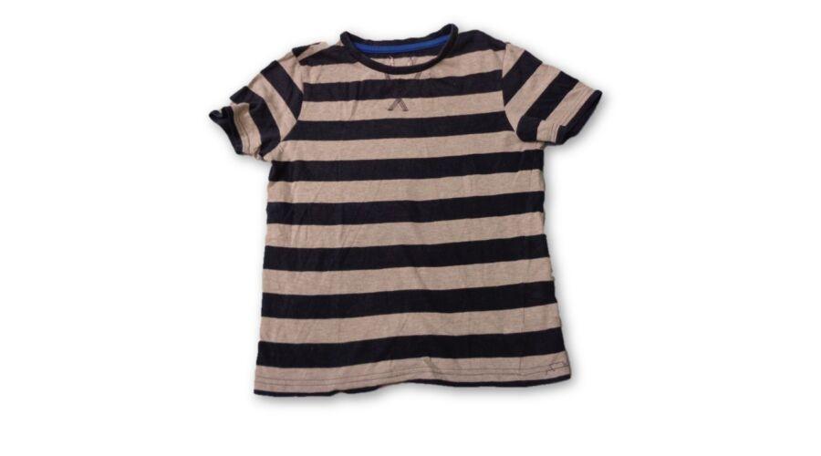 ece05ace93 110-es szürke-kék csíkos póló - F&F - felicity.hu használt ruha ...