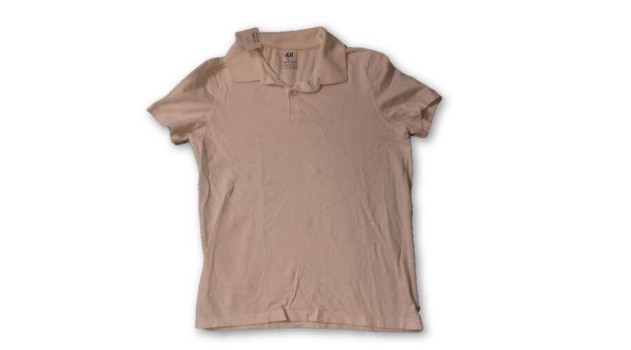 134-140-es fehér galléros póló - H M - felicity.hu használt ruha webáruház  - hatalmas választék. Gyors kiszállítás raktárról 8f1a7c0b44