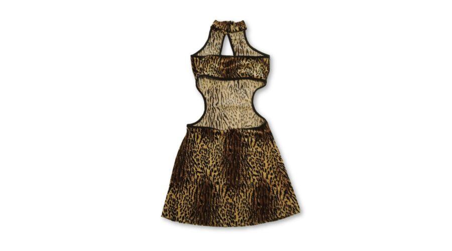 329c3b6cd3 Női XS-es párducmintás miniruha, jelmez - felicity.hu használt ruha ...